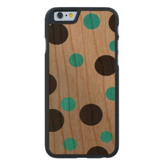 Customizable Dots On Blending Carved® Cherry iPhone 6 Case