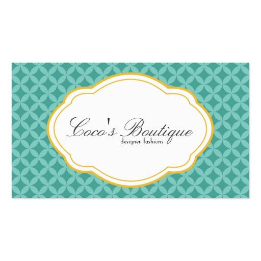 Customizable Double Sided Business Card