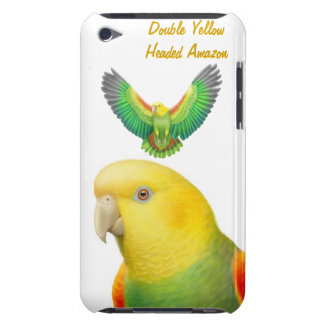 Customizable Double Yellow Headed Amazon Parrot Sp iPod Touch Case