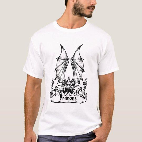 Customizable Dragon Banner T-Shirt 3