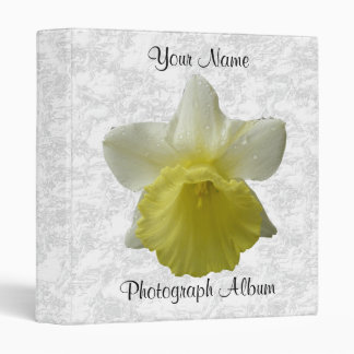 Customizable Dripping Daffodil Binder