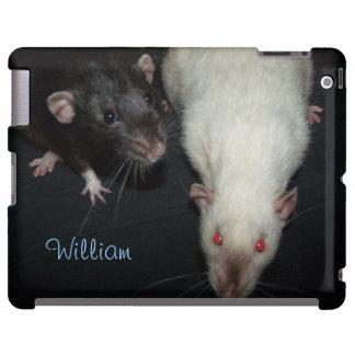 customizable Dumbo rats iPad case
