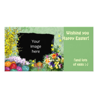 (Customizable) Easter Frame Card