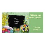 (Customizable) Easter Frame Photo Card