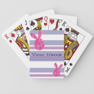 Customizable Easter Playing Cards