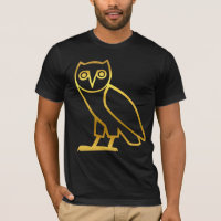 Customizable Egyptian Gold Owl Shirts