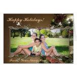 Customizable Elegant Holiday Photo Greeting Card