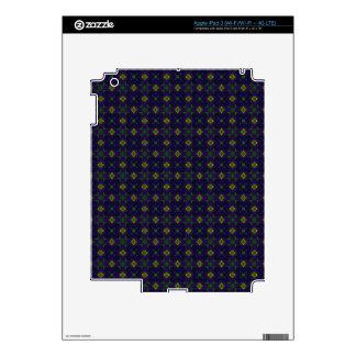 Customizable Elegant Purple Decals for IPad 3