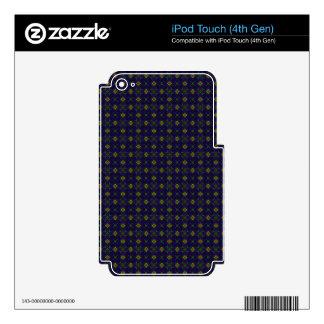 Customizable Elegant Purple IPod Touch 4G Skin