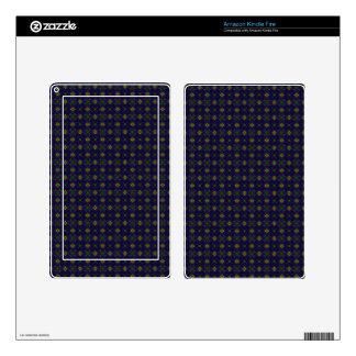 Customizable Elegant Purple Kindle Fire Skins