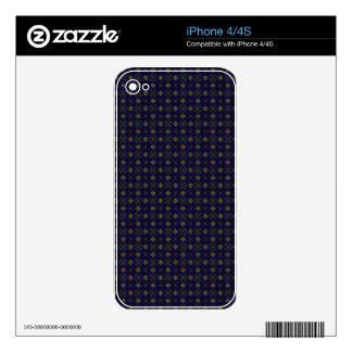 Customizable Elegant Purple Skin for the IPhone 4S