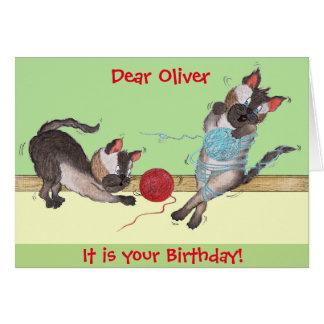Customizable 'Elvis & Me' Birthday Card