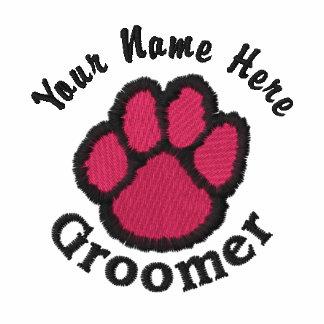 Customizable Embroidered Dog Groomer Tees, Sweats