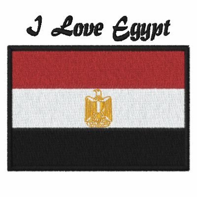 Customizable Embroidered Egypt Flag Tees Embroidered Shirt