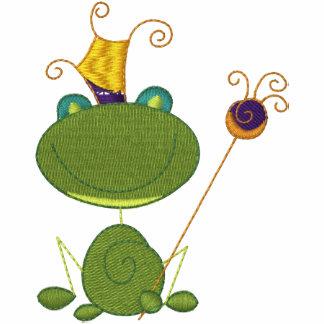 Customizable Embroidered Royal Frog Tees