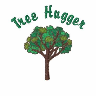 Customizable Embroidered Tree Tees and Sweats