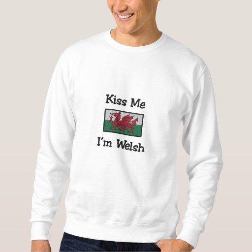 Customizable Embroidered Welsh Flag Sweatshirt