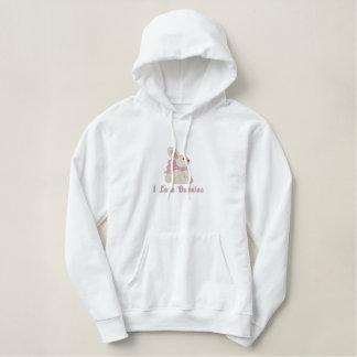 Customizable Embroidred Bunny Sweatshirt - pink