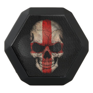 Customizable English Flag Skull Black Boombot Rex Bluetooth Speaker