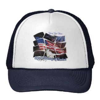 Customizable Enjoy The Blessings Of Freedom Hat