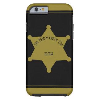 Customizable EOW Sheriff Deputy iPhone 6 Case