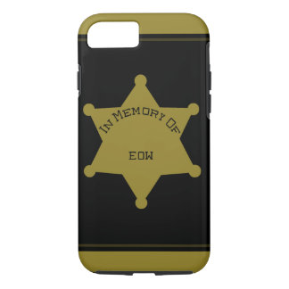 Customizable EOW Sheriff Deputy iPhone 7 Case