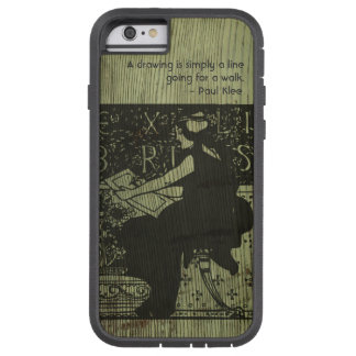 Customizable Ex Libris Bookplate iphone case Tough Xtreme iPhone 6 Case