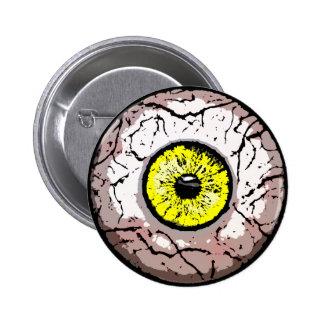 Customizable Eyeball -Button 2 Inch Round Button