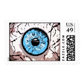 Customizable Eyeball postage