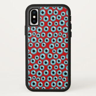 Customizable Eyeballs iPhone X Case