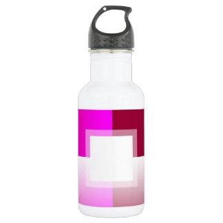 Customizable Fade: Magenta Water Bottle