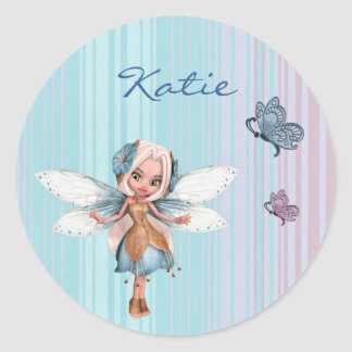 Customizable fairy stickers