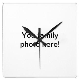 Customizable Family Photo clock