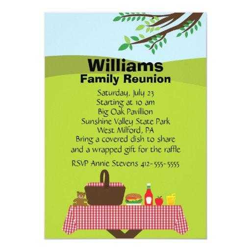 free printable family reunion invitations - Etame.mibawa.co