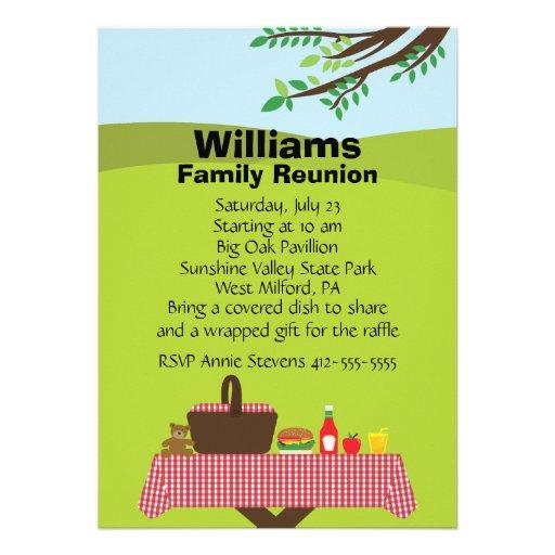 Family Reunion Invitation Letter as good invitation example