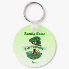 Customizable Family Reunion keychain