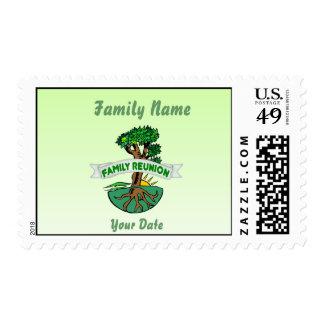 Customizable Family Reunion Stamp