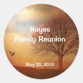 Customizable Family Reunion Stickers