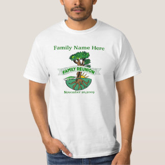 Customizable Family Reunion T Shirts