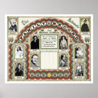 Customizable Family Tree & Marriage Chart