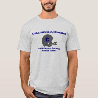 Customizable Fantasy Football Champs T-shirt