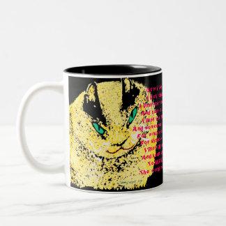 Customizable Fat Cat Coffee Mug