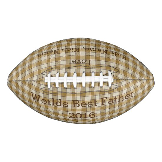 Customizable Father's Day Football Gift