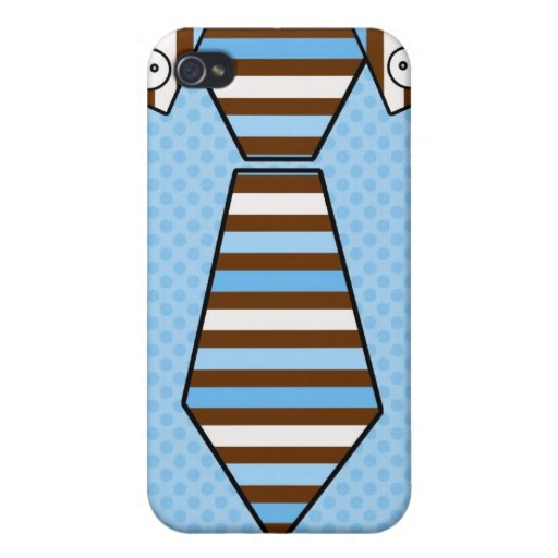 Customizable Father's Day Shirt & Tie Tees, Gifts Case For iPhone 4