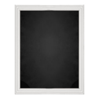 Customizable Faux Chalkboard Stationery Letterhead