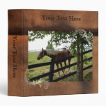 Customizable Faux Leather Photo 3 Ring Binders