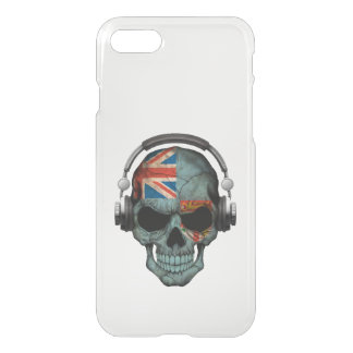 Customizable Fiji Dj Skull with Headphones iPhone 8/7 Case