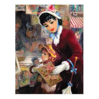 Customizable Fine Art Mother s Day Postcards
