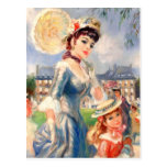 Customizable Fine Art Mother's Day Postcards