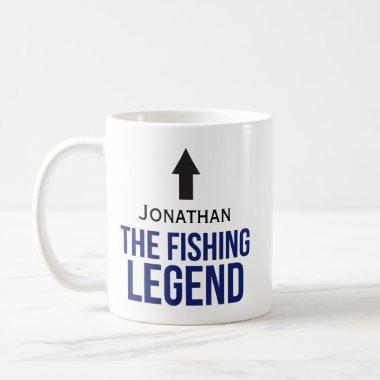 Customizable Fishing Coffee Mug Gift for Fishermen